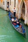 Gondolas in Venice, Italy Royalty Free Stock Photos
