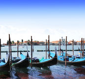 Gondolas in Venice, Italy Royalty Free Stock Image