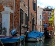 Gondolas of Venice, Italy. Stock Photos