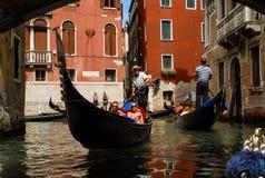 Gondolas of Venice, Italy. Stock Image