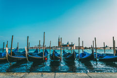 Gondolas in Venice Royalty Free Stock Photos