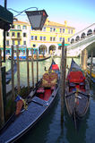 Gondolas Venice Royalty Free Stock Image