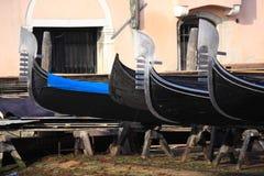 Gondolas workshop Stock Photography
