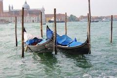 Gondole à Venise Images libres de droits