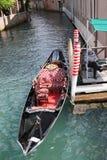 Gondole à Venise Image libre de droits