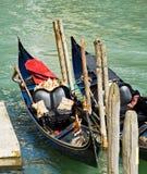 Gondole de luxe à Venise Photos libres de droits