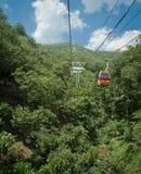 Gondole de montagne Image libre de droits