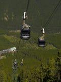 Gondole de montagne de Sulpher Photo libre de droits