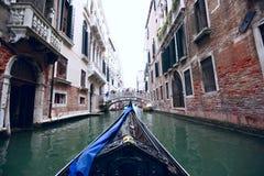 Gondole de Venise Photos stock