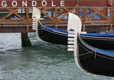 Gondole de Venise Images libres de droits