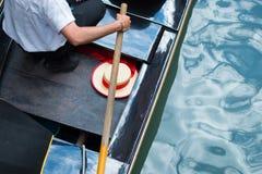Gondole de Venise photographie stock libre de droits