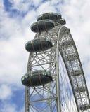 Gondole dell'occhio di Londra Immagine Stock