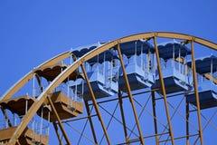 Gondole della ruota panoramica Fotografia Stock Libera da Diritti