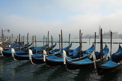 Gondole di Venezia Immagini Stock