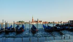 Gondole di Venezia Fotografie Stock