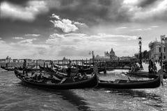Gondole di Venezia Fotografia Stock Libera da Diritti