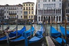 Gondole, Venezia, Italia Fotografie Stock Libere da Diritti