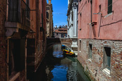Gondole '' s Venedig Stockfotografie