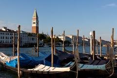 Gondole San Marco, Venezia Immagine Stock Libera da Diritti