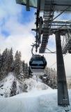 Gondole Ski Lift Images stock
