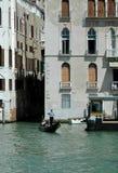 Gondole sur le canal, Venise, Italie Image libre de droits