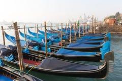 Gondole, typical Venecian boat in Venice, Italy Royalty Free Stock Photos
