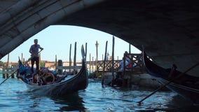Gondole a Venezia archivi video