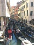 Gondole. A Venezia royalty free stock image