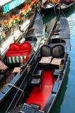 Gondole a Venezia immagini stock libere da diritti