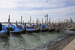 Gondole a Venezia fotografie stock libere da diritti