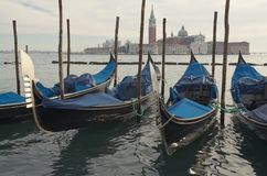 Gondole. Venezia Fotografia Stock