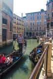 Gondole a Venezia Fotografia Stock