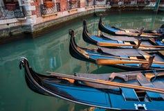 Gondole, Venezia, Italia Immagine Stock