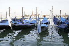 Gondole, Venezia, Italia Fotografie Stock