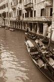 Gondole veneziane immagini stock