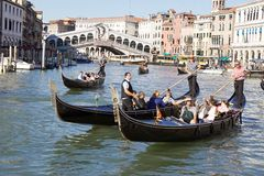 Gondole in Venice Stock Photography