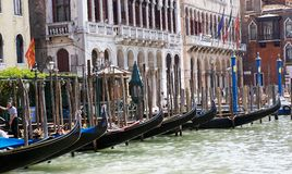 Gondole in Venice Stock Images