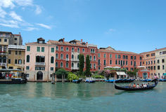 gondole Venise de canal Photo stock