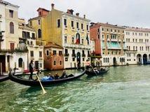 gondole Włoch Wenecji Zdjęcie Royalty Free