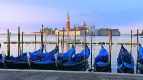 Gondole w Venezia zdjęcie wideo