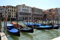 Gondole w Wenecja Obrazy Royalty Free