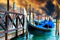 gondole Wenecji obraz stock
