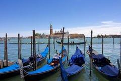 Gondoler av Venedig Royaltyfri Fotografi
