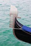 Gondoler i Venedig Royaltyfri Foto