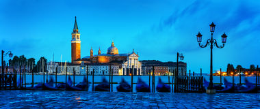Gondoler i Venezia Royaltyfri Bild