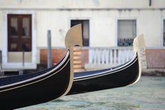 gondoler venice Royaltyfri Bild