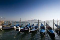 Gondoles à Venise Photo stock