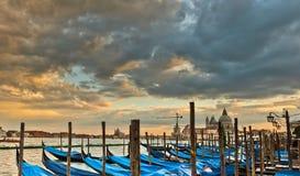 Gondoles à Venise photos stock