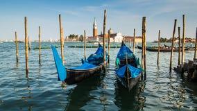 Gondoles à Venise Photographie stock