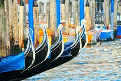 Gondoles à Venise, Italie Image stock